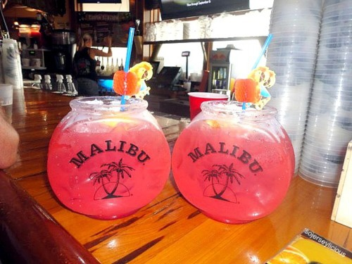 I absolutely love the idea of putting drinks into a fish bowl! I'll have about 5 on a hot summer day :)
