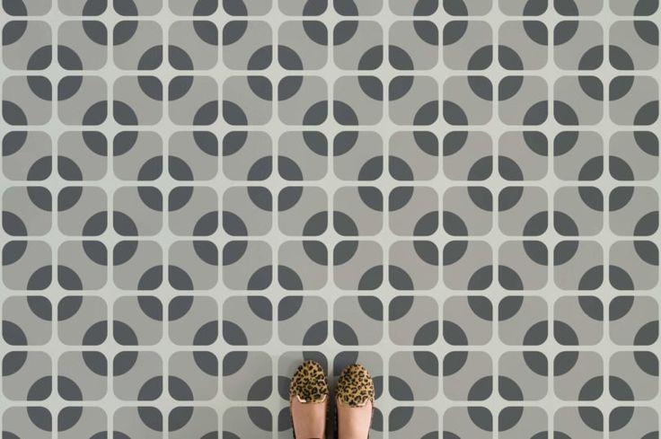 12 best lvt vinyl images on pinterest vinyl flooring for Patterned linoleum tiles