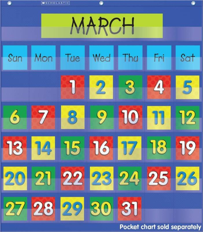 Kindergarten Classroom Calendar Wall : Best teaching pocket charts images on pinterest