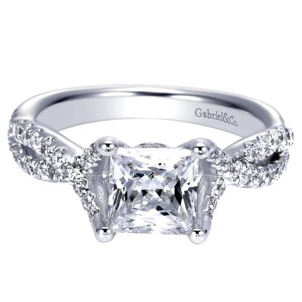 17 best images about princess cut engagement rings on