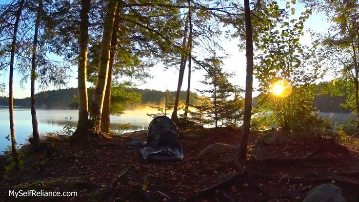 Bivy camping on McGarvey Lake