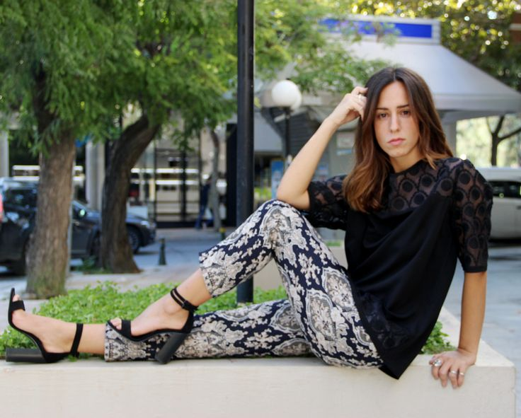 Blouse & Trousers Estel collection Fall/Winter '14-2015