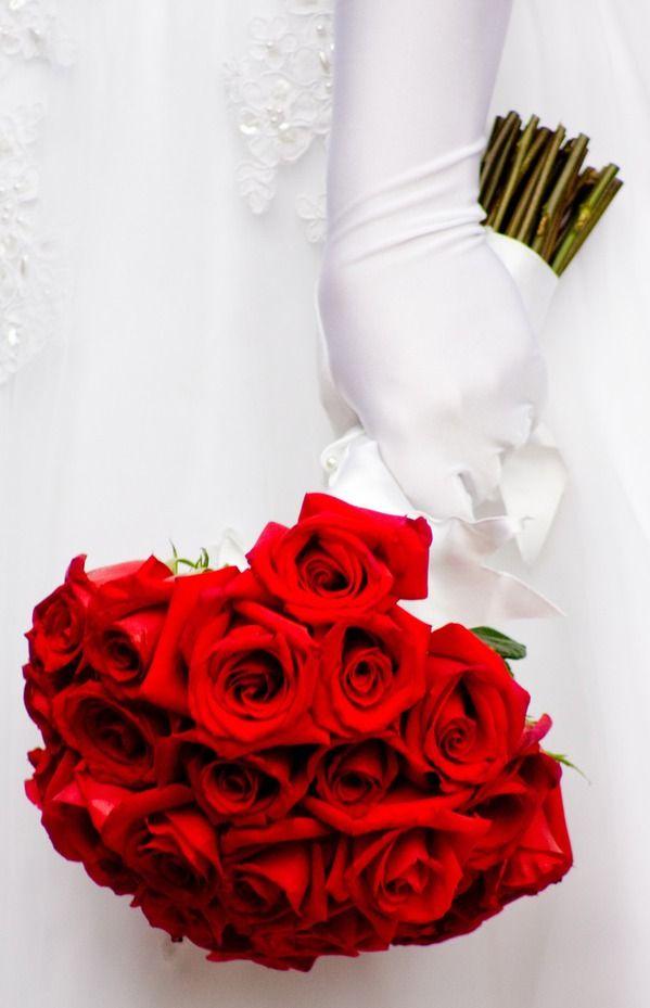 rode roos boeket