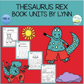 THESAURUS REX BY LAYA STEINBERG  This playful dinosaur will slither, skid, slide and glide his way into children s hearts! Encourage children to explore synonyms with the loveably cheeky Thesaurus Rex, who has an irresistible way with words.