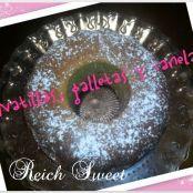 Bunt Cake de natillas, galletas y canela