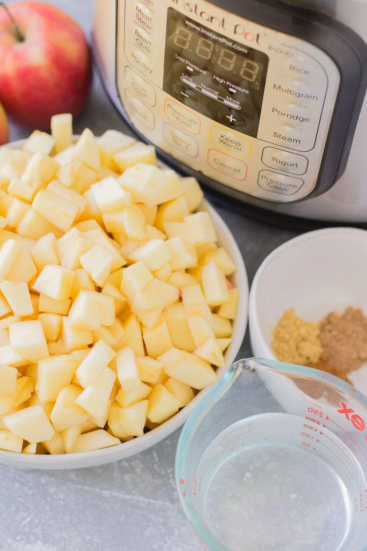 Instant Pot Applesauce Recipe Pressure cooker