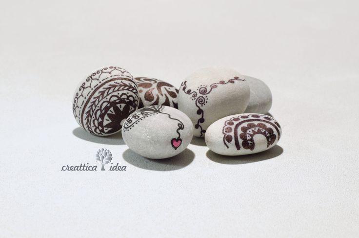 Diseños sobre piedra