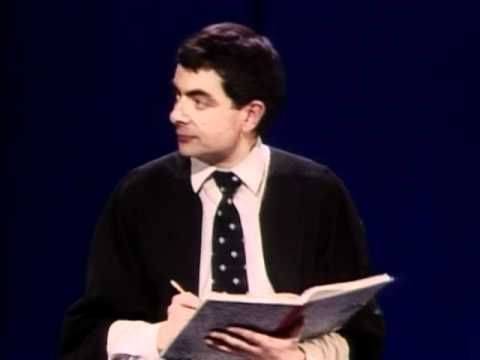Rowan Atkinson Live - No one called Jones - Dirty words