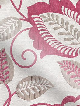 Frasier Geranium Pink Curtains by tuiss ®