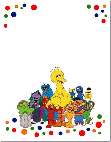17 Best ideas about Sesame Street Invitations on Pinterest ...