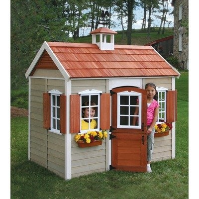 The savannah wood playhouse toys r us Outdoor playhouse for sale used