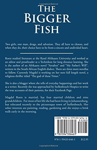 The Bigger Fish: Two Girls, One Guy, Some Choices: Magdel Roets: 9781594336461: Amazon.com: Books