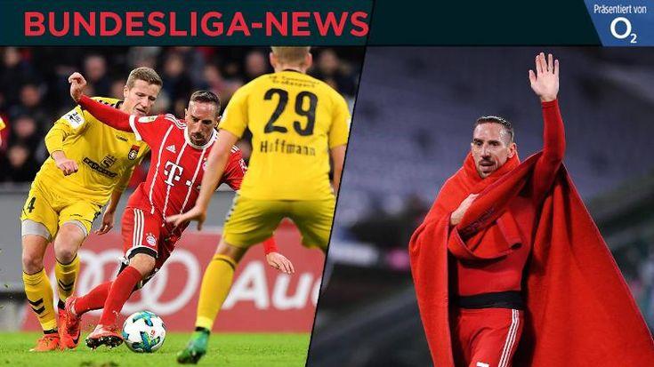 Max Kruse bereitet sich mit Wüstentänzen auf den Abstiegskampf vor und Ribéry ballert sich für Leverkusen warm - die Bundesliga-News!