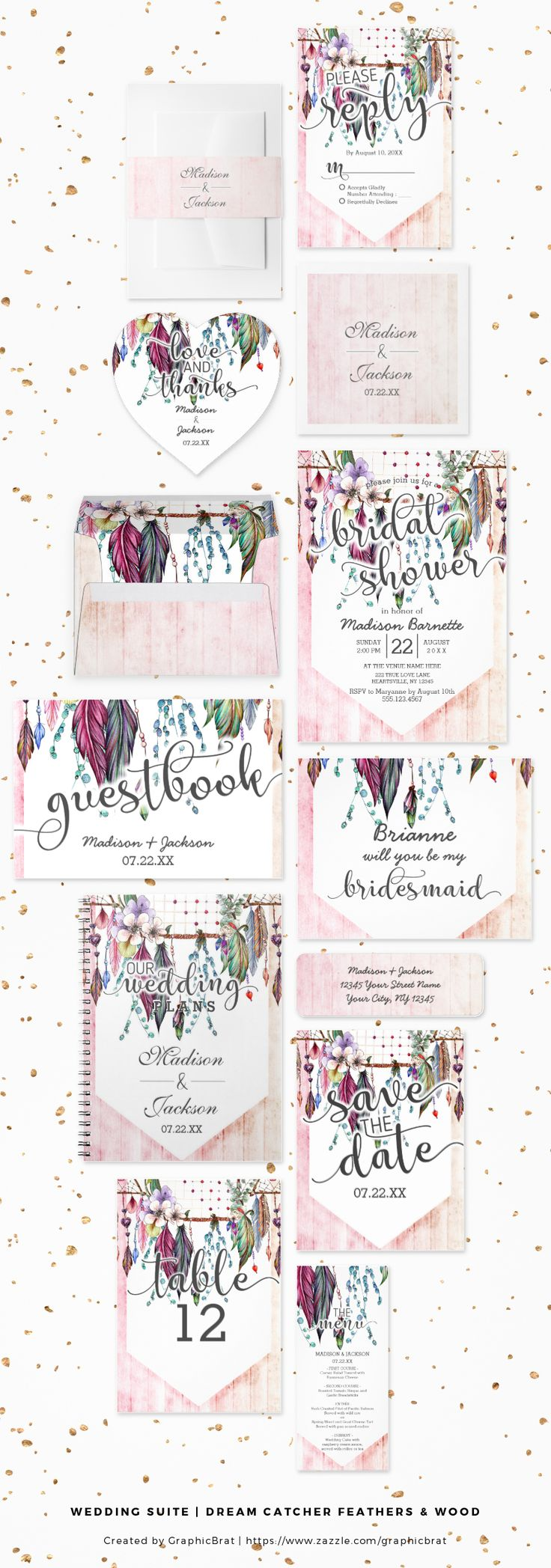 97 best Wedding Invitation Suite Collections - Daily images on Pinterest