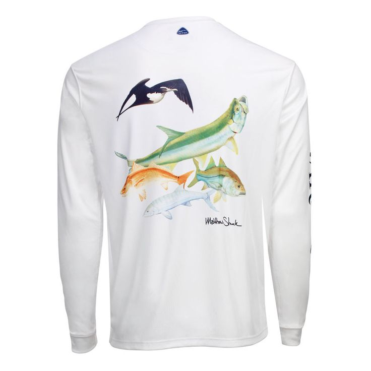 Men's OTP UV Shirt: Backcountry - White
