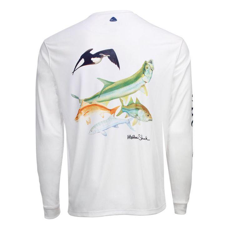 Men's OTP UV Shirt: Backcountry - White