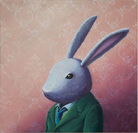 School Rabbit by Rieko Woodford-Robinson