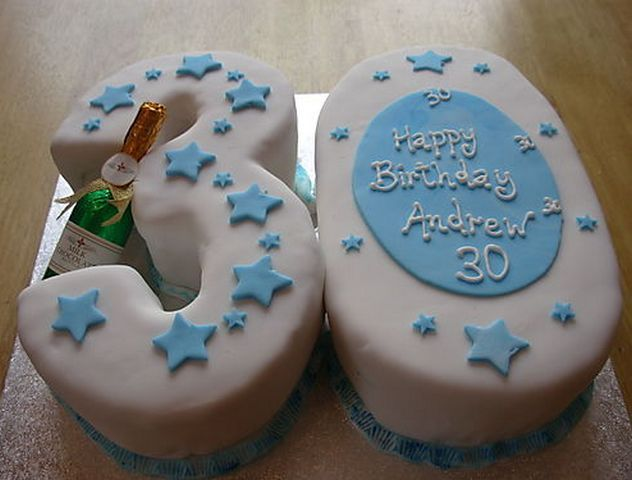 37 best images about birthday cakes on pinterest for 30th birthday cake decoration ideas