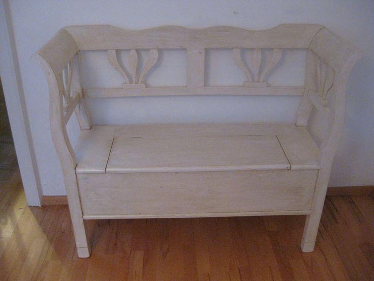 die besten 17 ideen zu truhenbank auf pinterest banktruhe sitzbank truhe und garagenspeicher. Black Bedroom Furniture Sets. Home Design Ideas