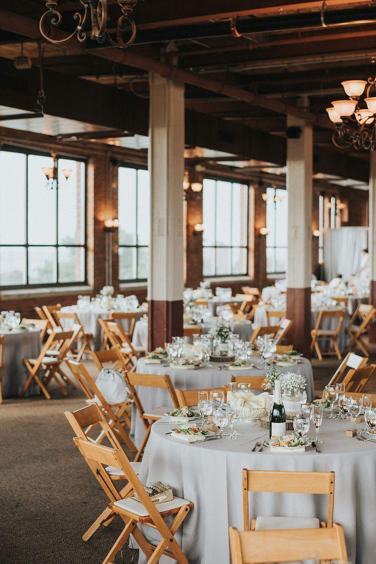 Ariel International Center, Cleveland / photo by Nick + Danee / Real Wedding: Maggie & Eric's Cleveland-Inspired Wedding