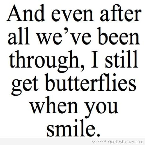 Love Cute Sweet Butterflies Smile Boyfriend Girlfriend Crush Quotes