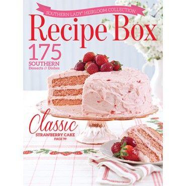 southern lady recipe box southernlady recipebox