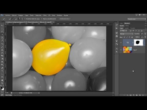 Mantener Color de una Zona en una Imagen - Photoshop Tips y Trucos Vol. 4 - YouTube