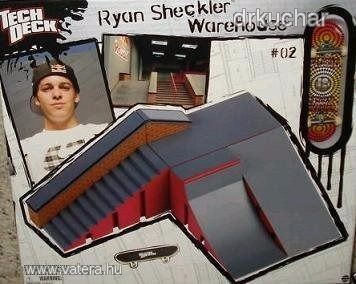 Tech Deck Ryan Sheckler Warehouse - Vatera.hu