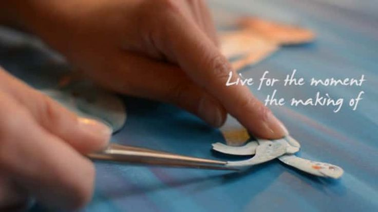 "The Making Of ""Live For The Moment""A Stop Motion Paper Cut Out Animation"