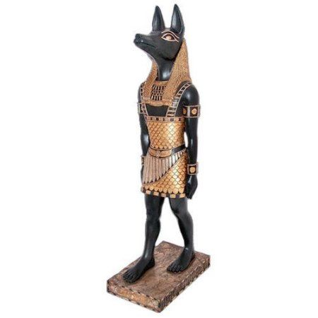 The Egyptian Jackal-God Anubis Statue