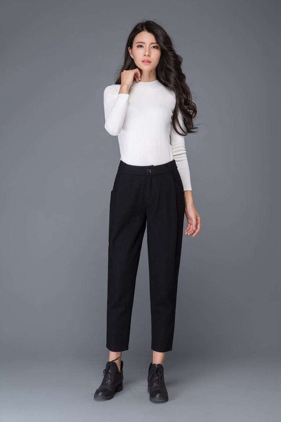 5843474702c Black pants