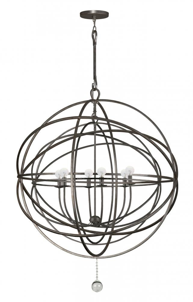 English bronze globe chandelier dulles electric supply corp