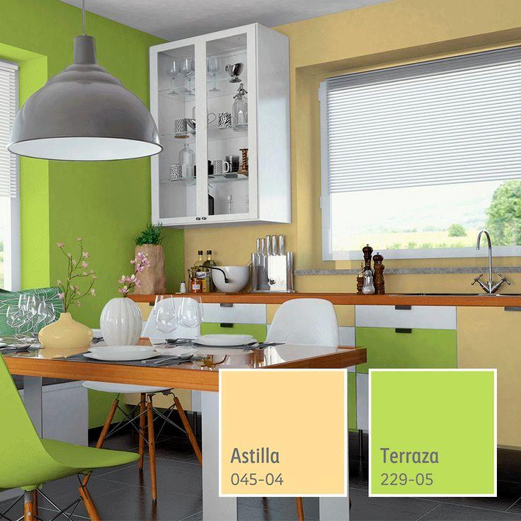 Por qu conformarte con un color para tu cocina cuando - Pintura de cocina ...