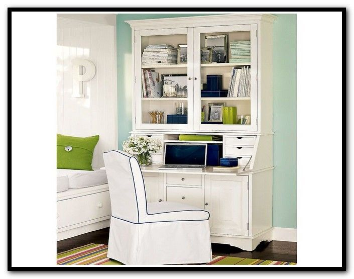 Ikea Hemnes Secretary Desk With Hutch For The Home