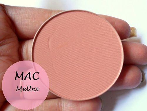 Mac- Melba blush if you want that natural look