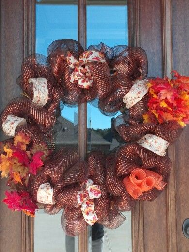 My first wreath in my new home,