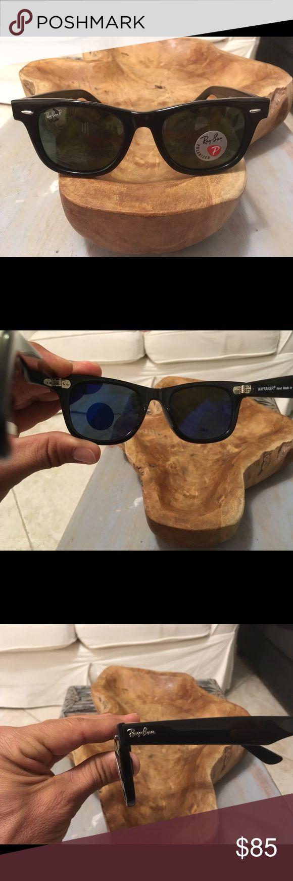 Ray ban wayfarer polarized glass lenses Brand new ray ban wayfarer polarized glass lenses  Size 50mm Ray-Ban Accessories Sunglasses