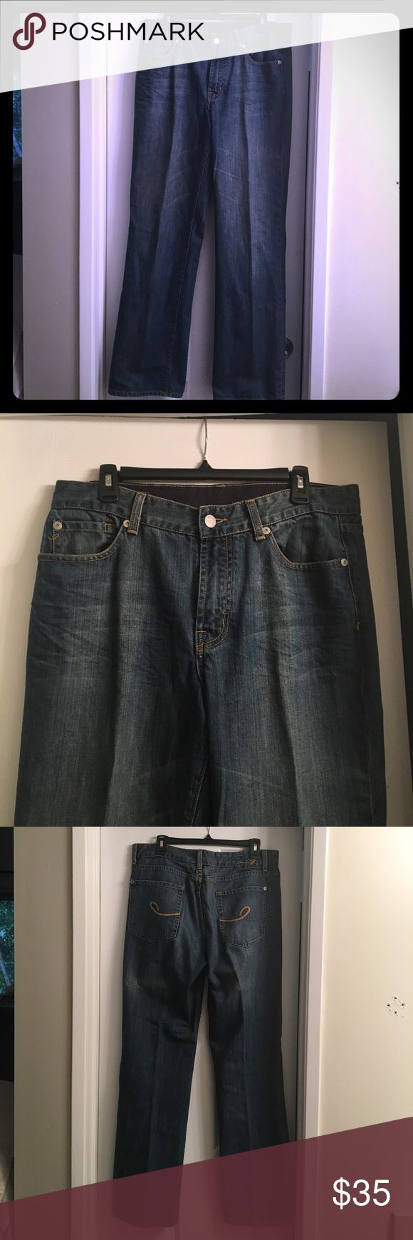 Men's jeans Seven jeans. Excellent condition like new. Seven7 Jeans Relaxed