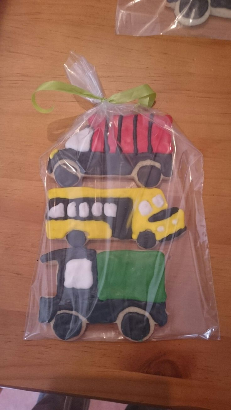 Vehicle cookie thank you gift