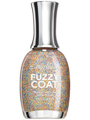Sally Hansen's Fuzzy Coat Nail Color comes in seven shades