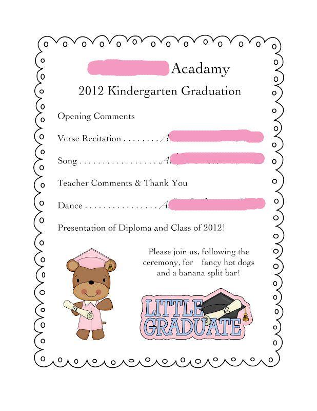 86 best Pre k graduation images on Pinterest Graduation ideas - graduation program