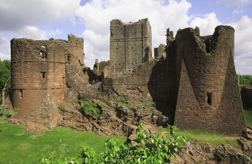 Goodrich Castle, Ross on Wye, Herefordshire, UK