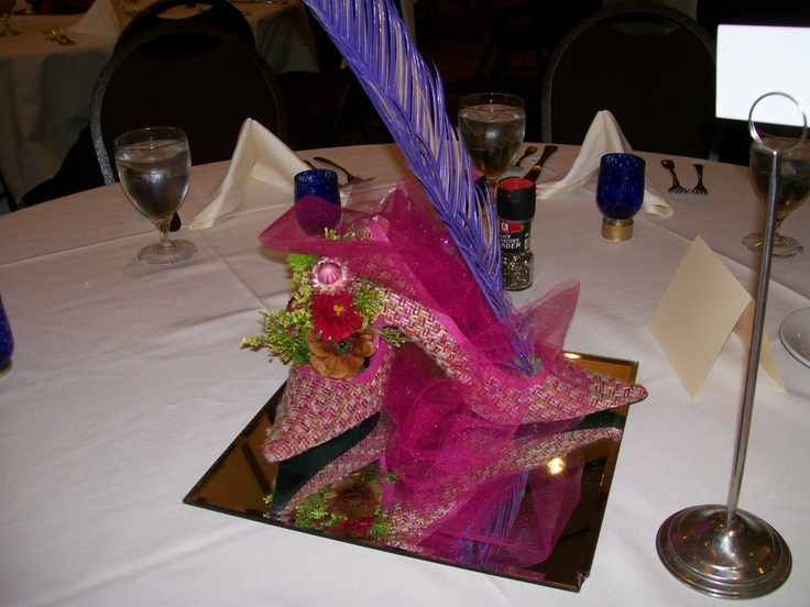 Great idea for a ladies luncheon or tea flower