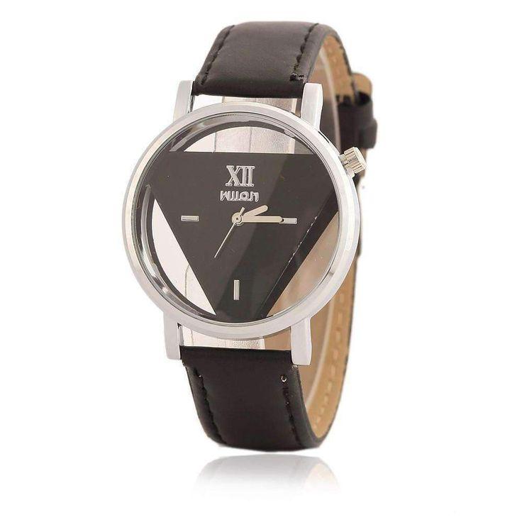 Unique Desgin Watches Women Hollowed-out Triangular Dial Fashion Quartz-Watch Dress Watch Ladies Clock montre femme reloj mujer Brand Name: xiniuGender: Women