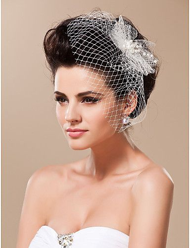 headpiece noiva moderna de casamento - BRL R$ 20,68