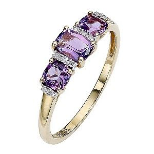 Amethyst ring Someone direct my hubby to this for my Bday!
