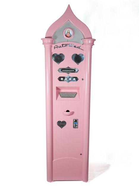 Wedding vending machine