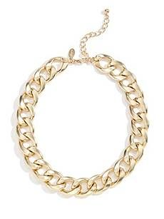 Gold-Tone Chunky Chain Necklace | GuessFactory.com