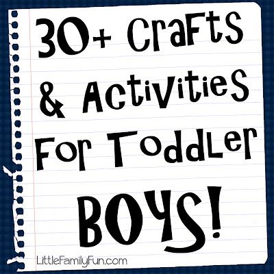 Crafts & Activities for BOYS!