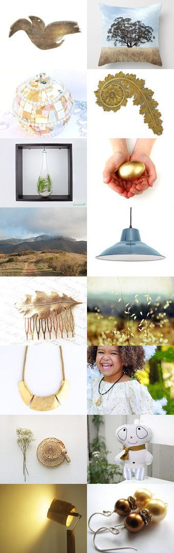 sunday gold by Nora on Etsy--Pinned with TreasuryPin.com